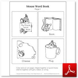 Mouse Mini Book