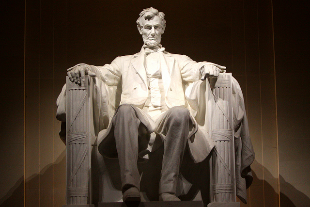 Abraham Lincoln Memoria by Gage Skidmore on flickr
