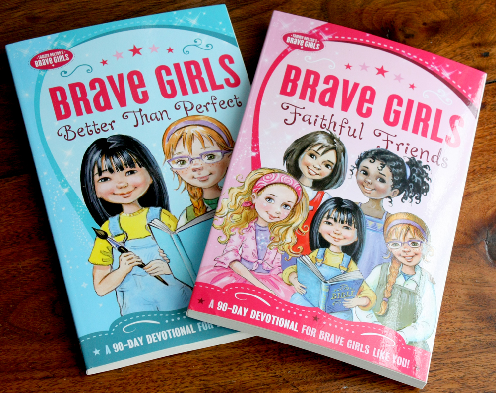 Brave Girls Devotional Books 1