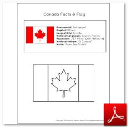 Canada Facts and Flag