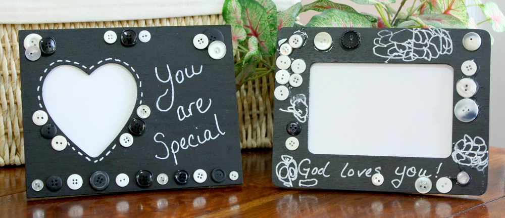 Chalkboard Picture Frames Craft 1000