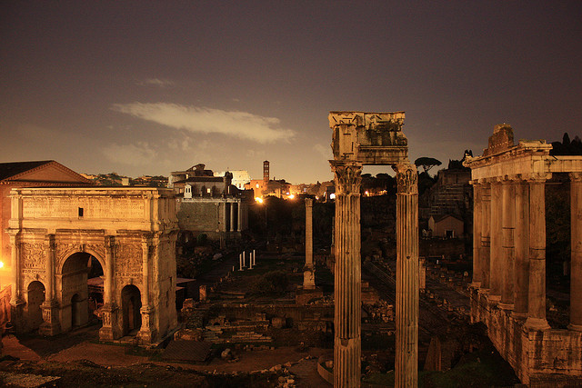 Forum Romanum by Martin Fisch on flickr