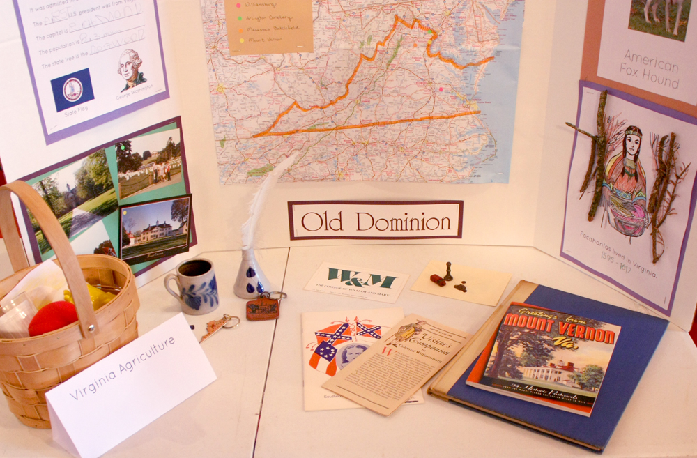 Geography Fair Display - Table