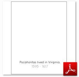 Pocahontas Blank