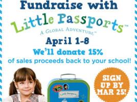 Little Passports Fundraising 2015
