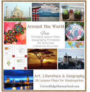 Around The World in 28 Weeks For Preschool Through First Grade Collage Button 2 OK2