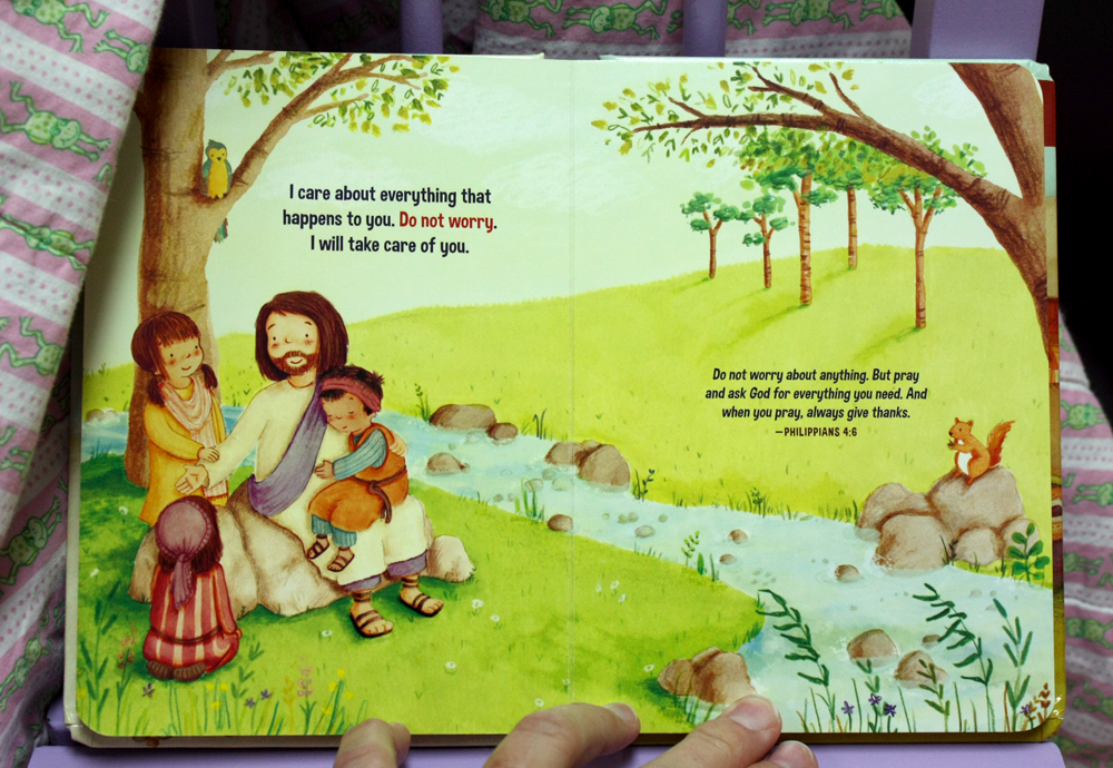 Jesus Calling for Little Ones inside