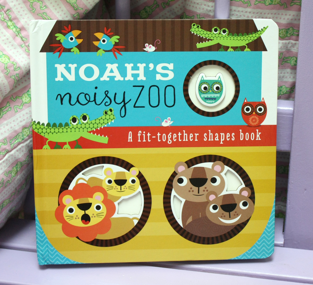 Noahs Noisy Zoo Fit Together Shapes Book