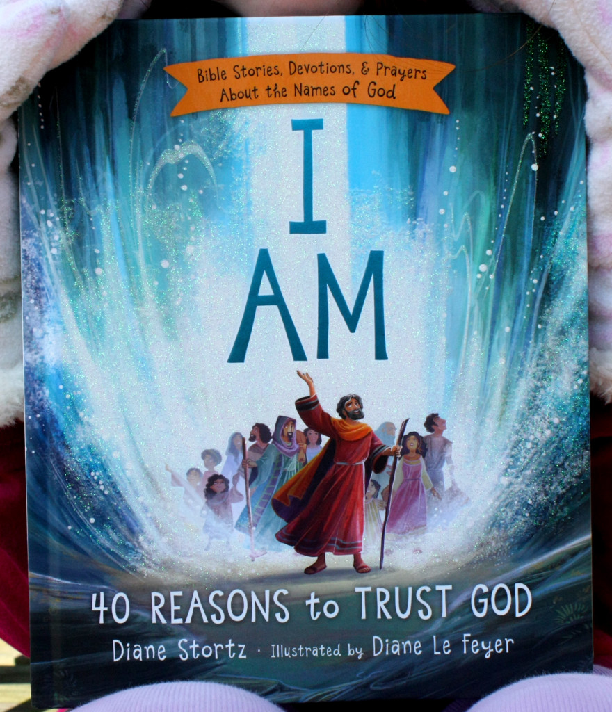 I AM ~ Children\'s Bible Storybook Review and Free Coloring Sheets