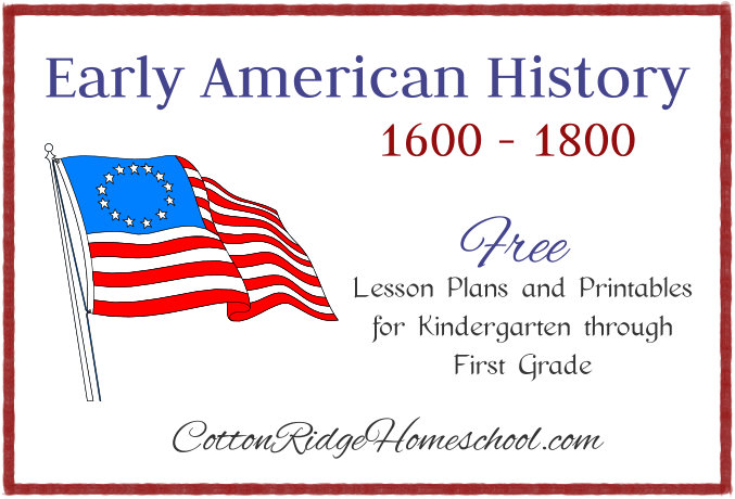 Early American History Button CRH FeatureA