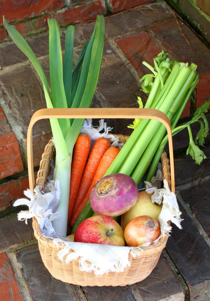 George Washington Garden Produce