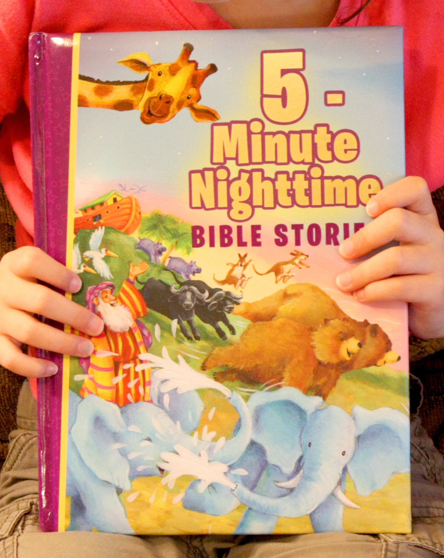 5 Minute Nighttime Bible Stories Cover