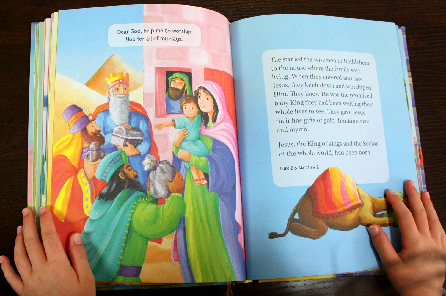 5 minute Bible stories inside