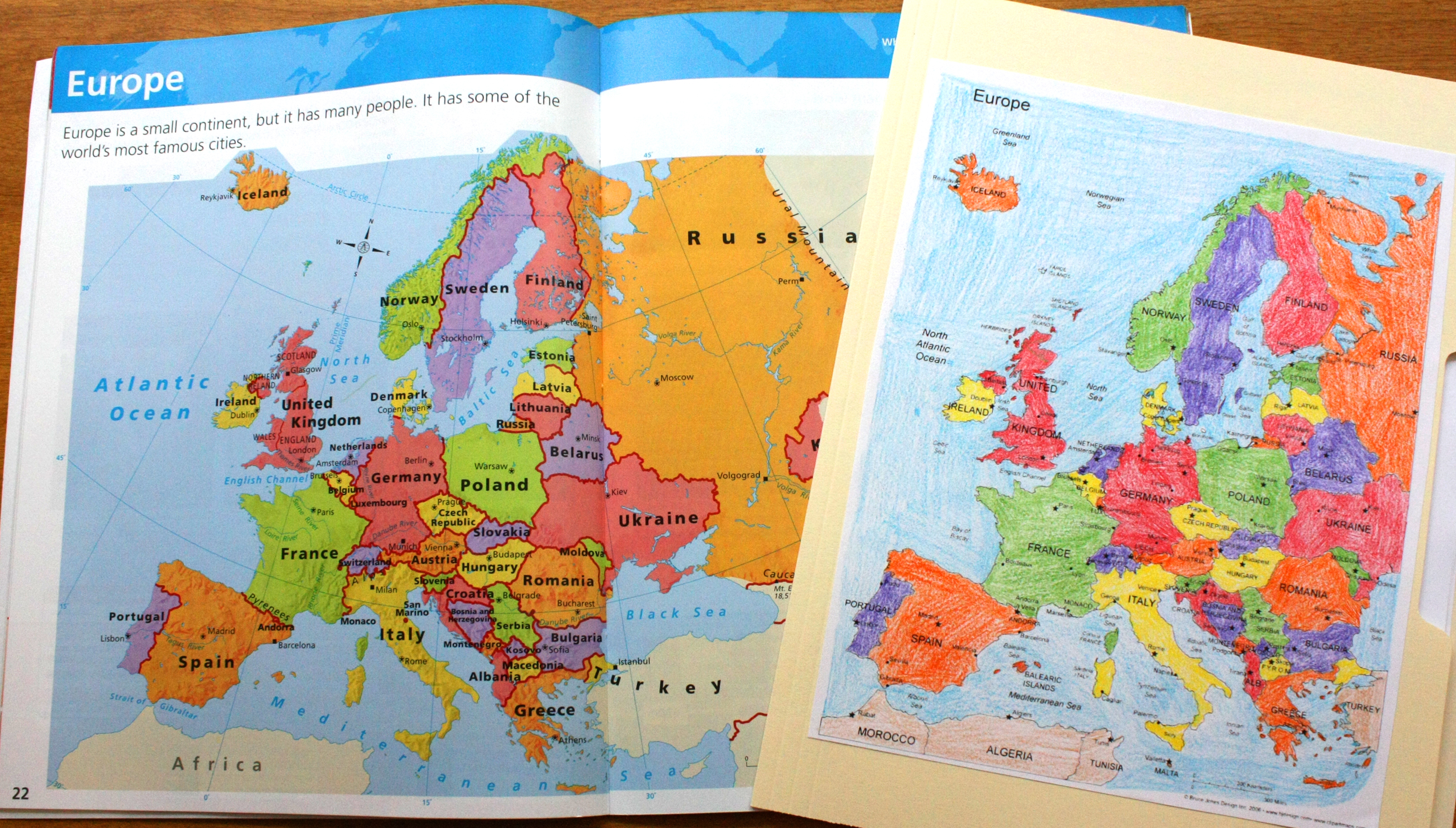 European Geography & Cultures ~ Free Lesson Plans & Printables
